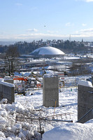 Overlooking the Tacoma Dome