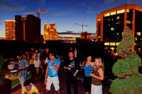 Rooftop Salsa Party at Israel's (etc.), 8/21/2011