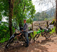 Trail-riding with Daron near Chiang Mai, Thailand
