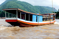 Luang Prabang, Boat to Caves