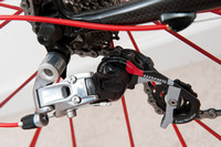 SRAM Red rear derailleur.