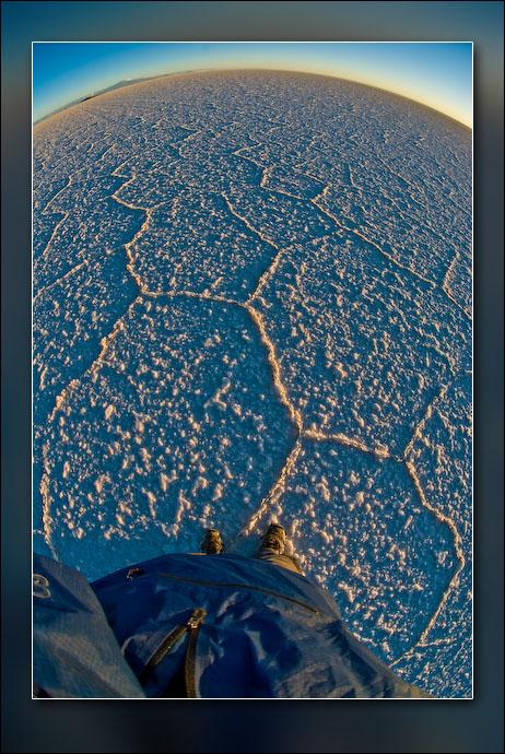 Salar de Uyuni.