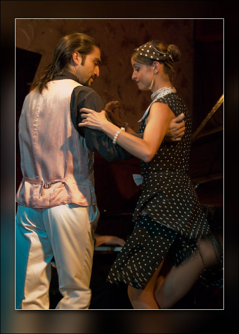 The Tango Show at Café Tortoni