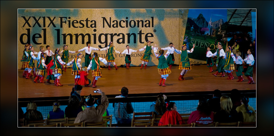 Fiesta of the Immigrant, Oberá, Argentina.