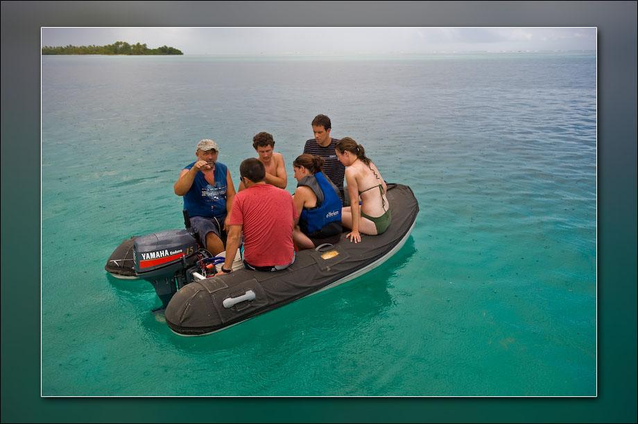 A snorkeling trip.