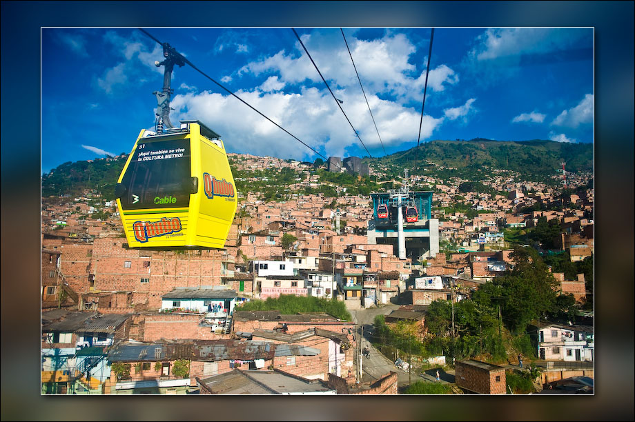 One of the teleféricos, Medellín.