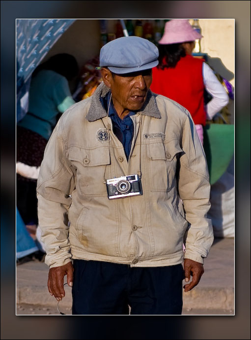 A fellow photographer (Cusco).