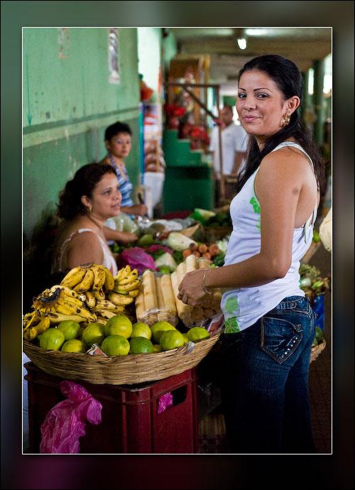 The market in León.